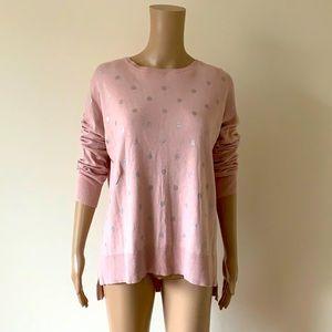 DECJUBA | Oversized silver spot knit